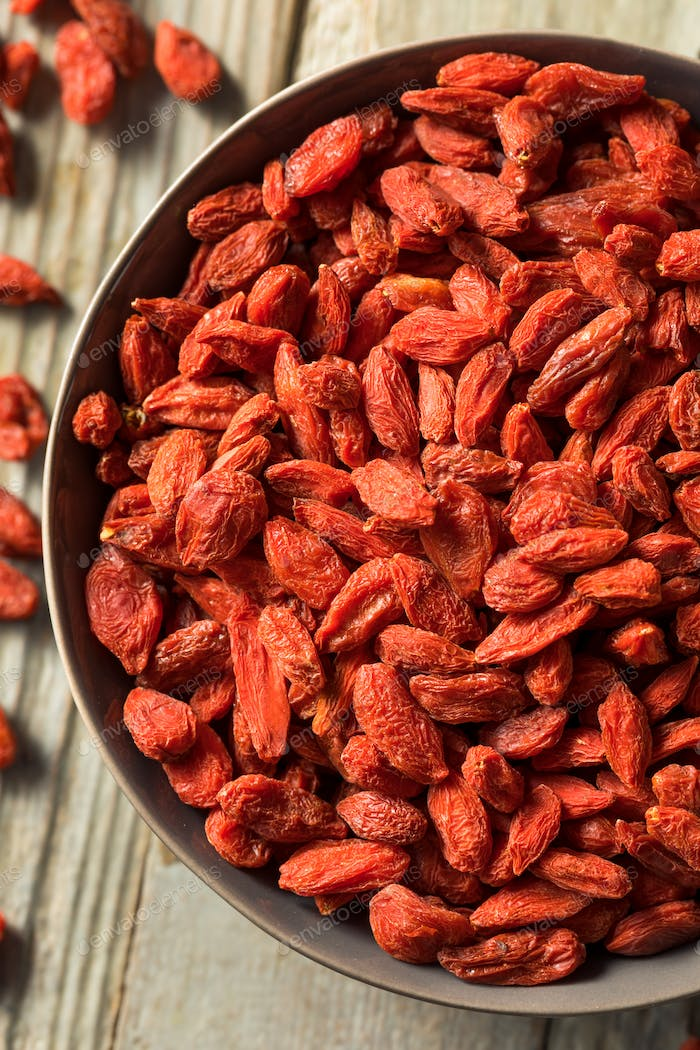 Raw Red Organic Goji Berries