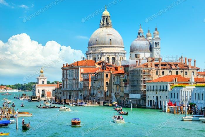 Berühmte venezianische Basilika