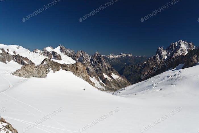 Mont Blanc - Mer de glace glacier