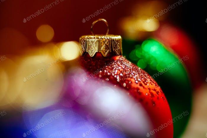 bolas de Navidad adorno vacaciones de invierno
