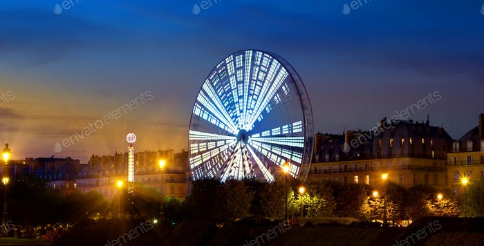 Luminous Ferris Wheel