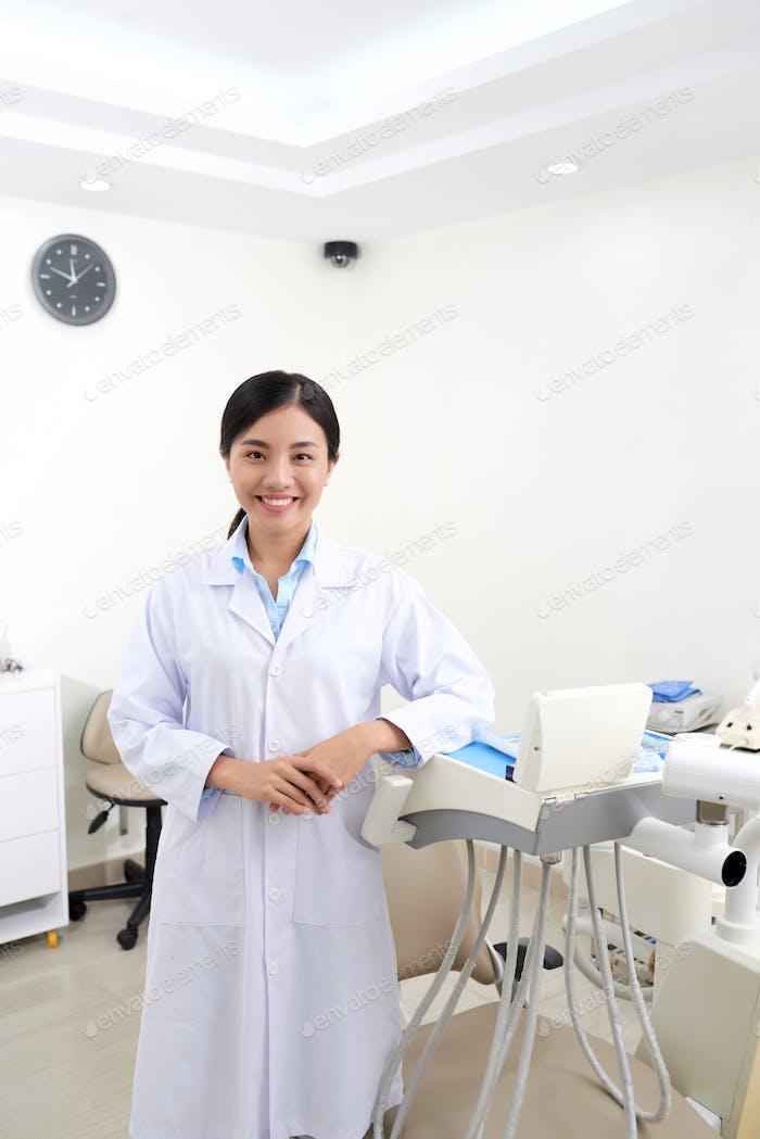 Pretty dentist