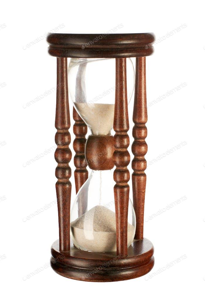 Hourglasses isolated