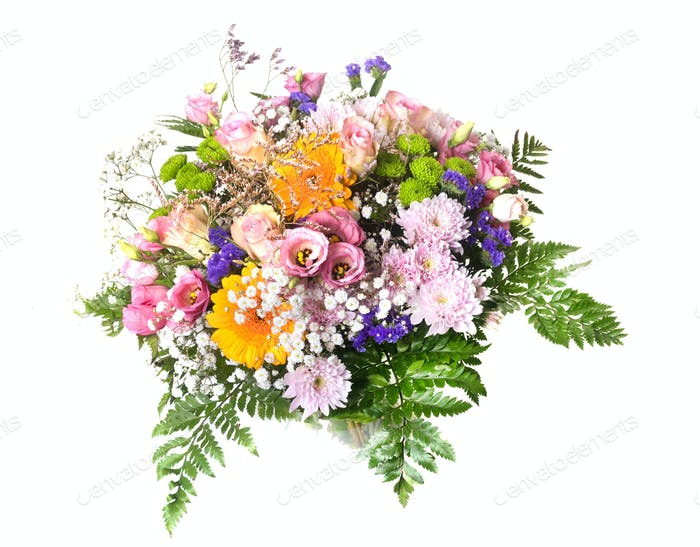 flower bouquet in studio