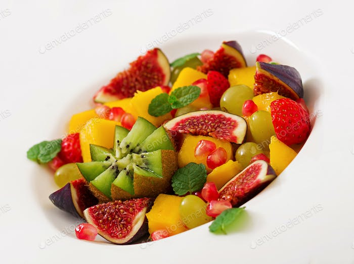 Platter fruits and berries