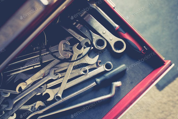 Set of Steel Wrenches