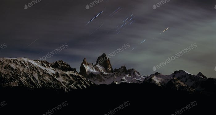 Mount Fitz Roy, Cerro Chalten, Cerro Fitz Roy, Southern Patagonian Ice Field in Patagonia,