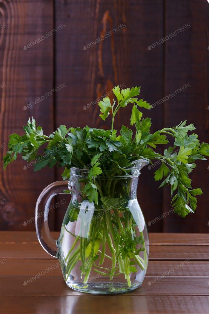 Bouquet de persil frais