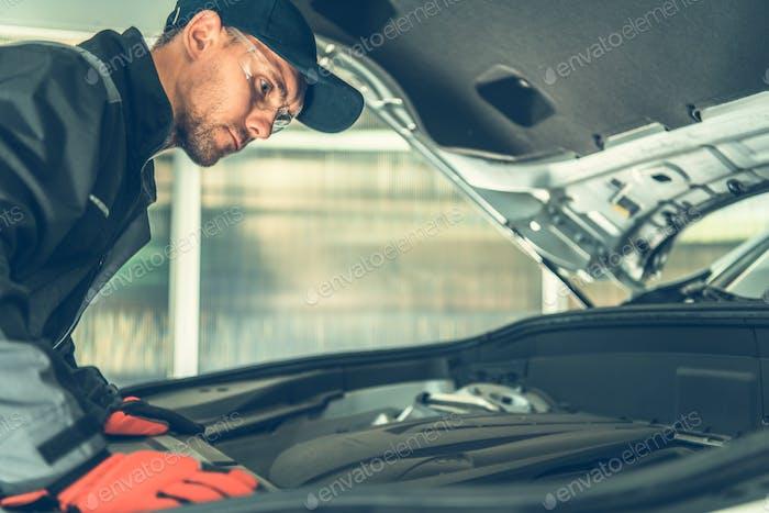 Mechanic Spotting Problem