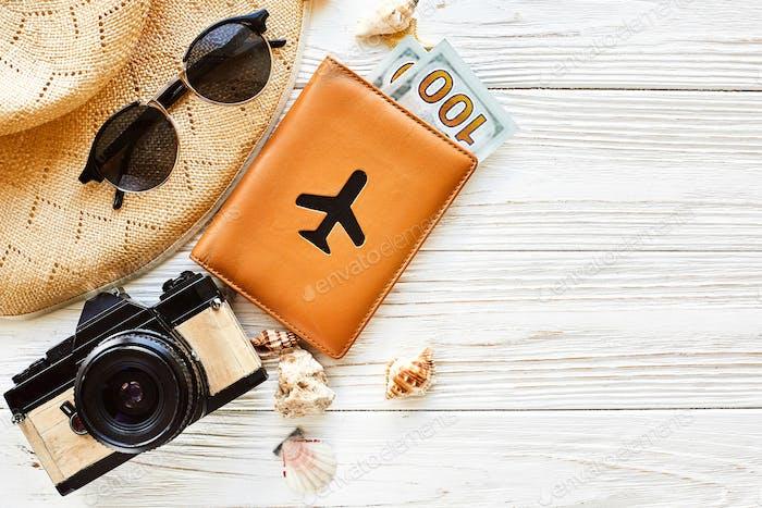 Sommerurlaubskonzept