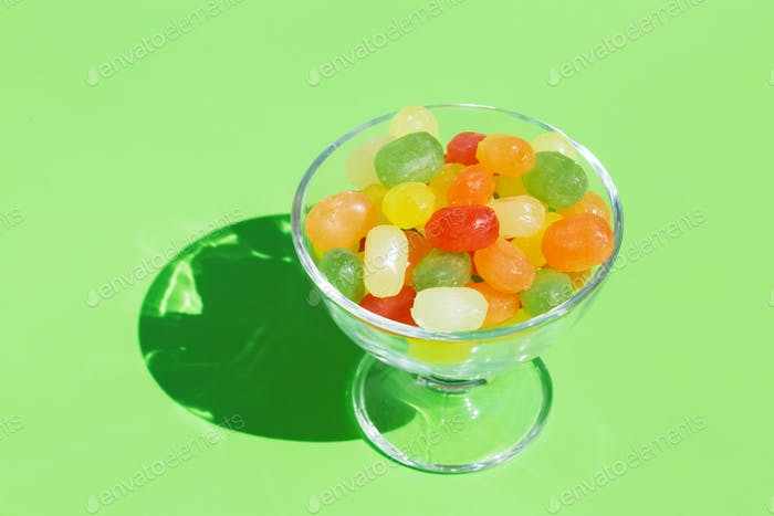 Traditional Turkish sugar candies for Seker Bayram Ramadan holiday