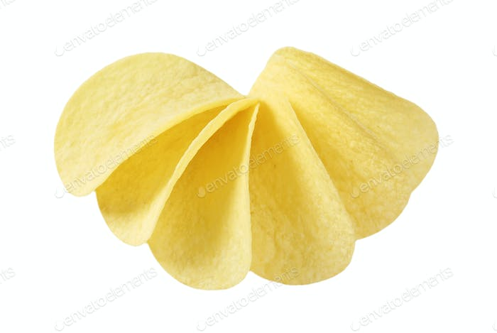 thin potato chips