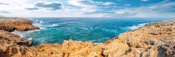 Turquoise bay on the Akamas Peninsula