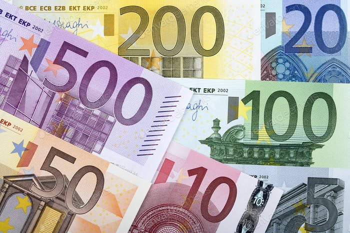 Full set of European money, a background