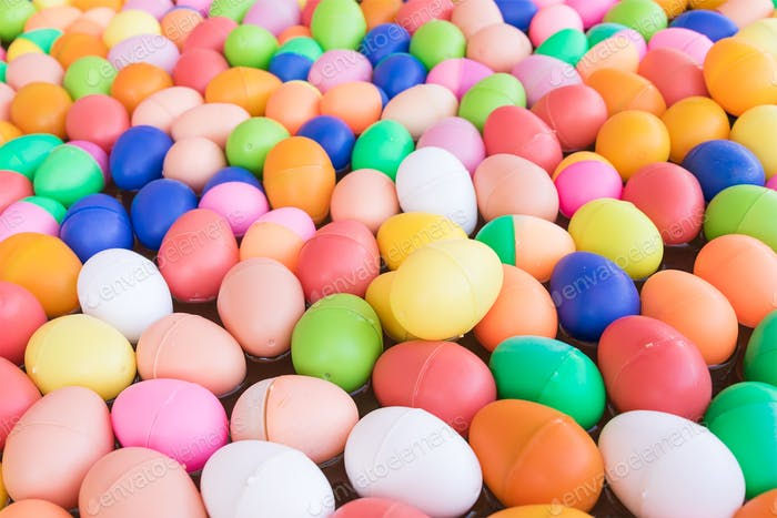 Colorful plastic eggs toy-13