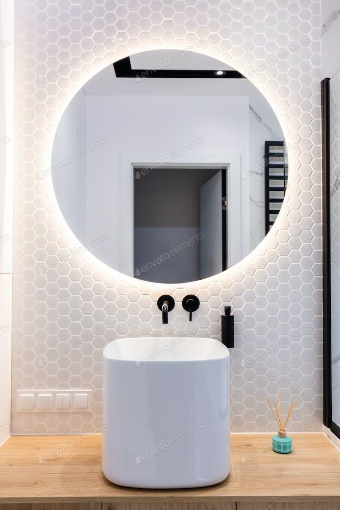 Modern small bathroom interior design