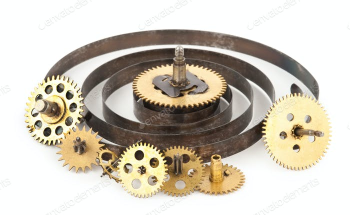 gears from old clock