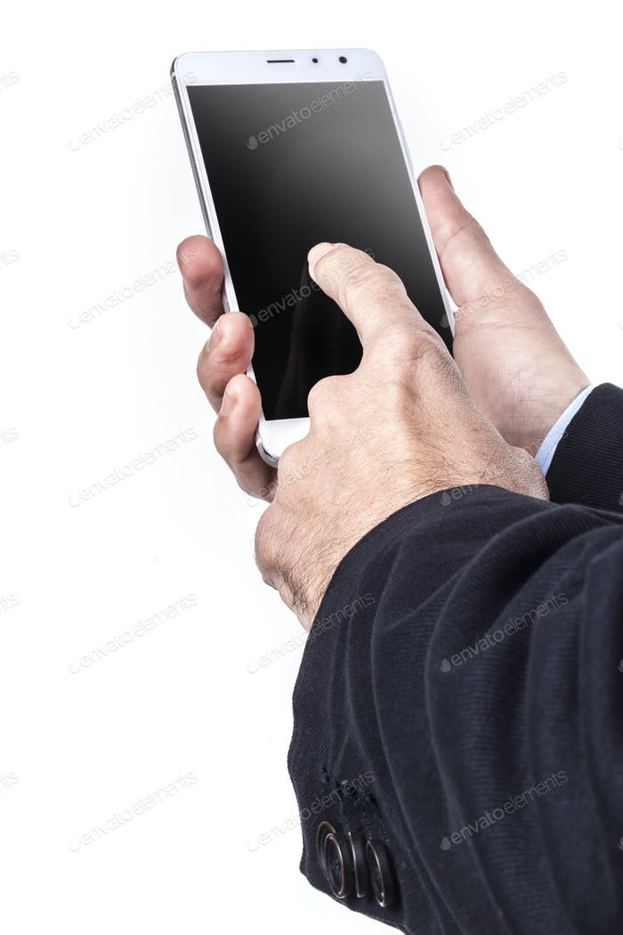 Smartphone In Hands