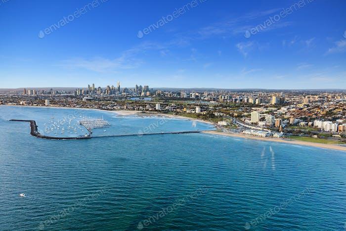 Fotografía aérea australiana
