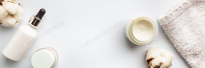 Hautpflege-Kosmetologie-Produkte