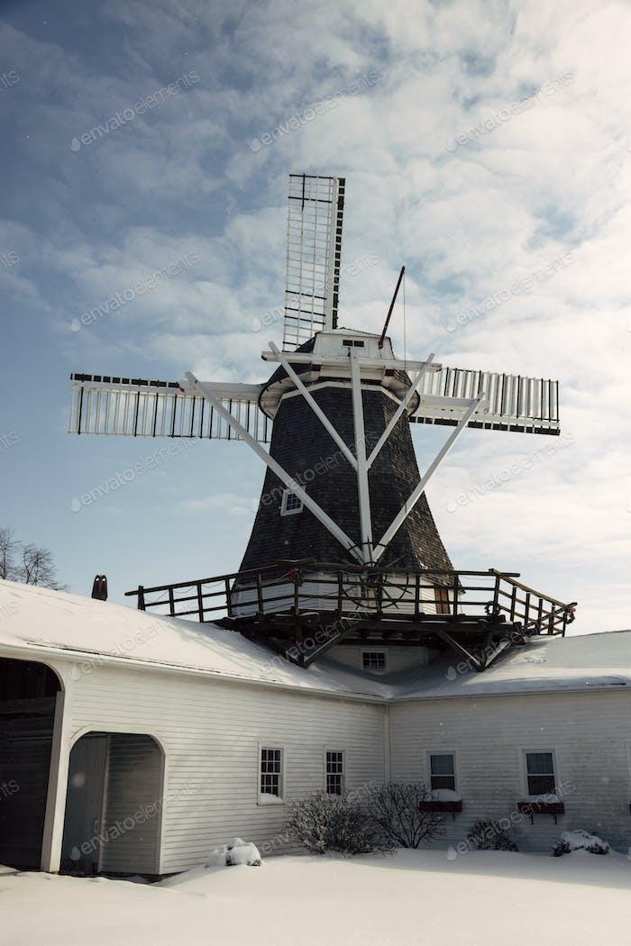 Windmill in Golden, Illinois