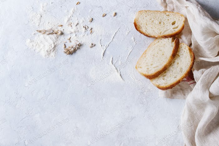 Homemade white wheat bread