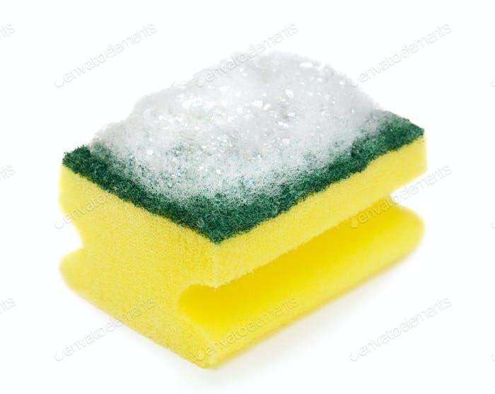 Sponge with foam