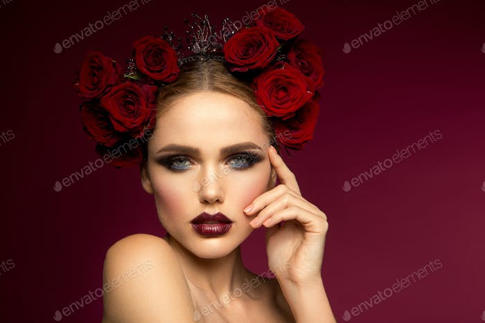 Beautiful girl. Spanish style.