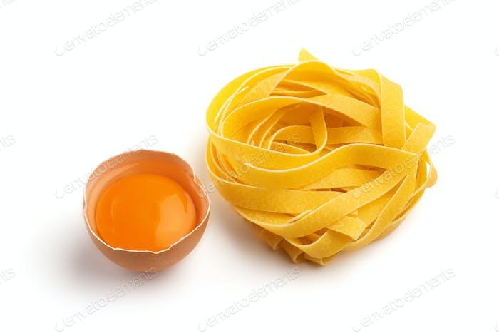italienische Eierpasta