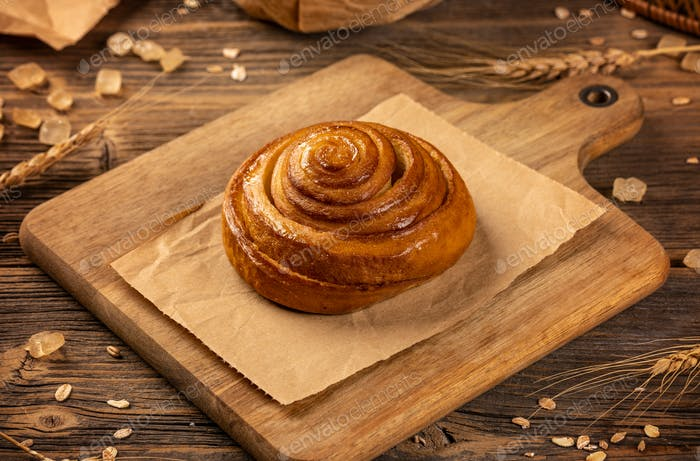 Homemade fresh cinnamon buns