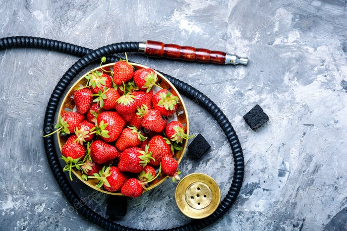 Fruit with hookah