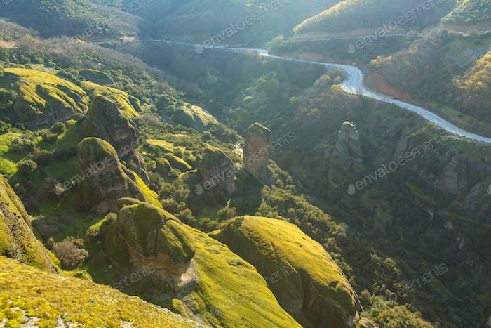 Meteora landscapes
