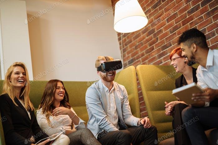 Enjoying a virtual world