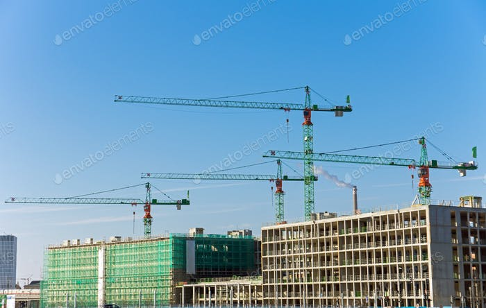 Construction site in Berlin