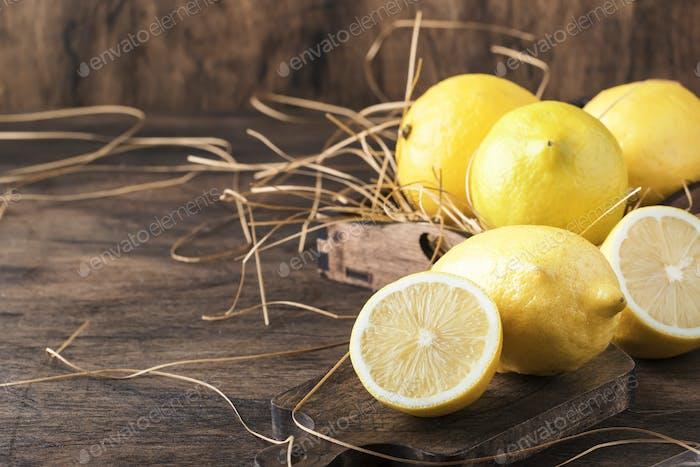Saftige Zitronen