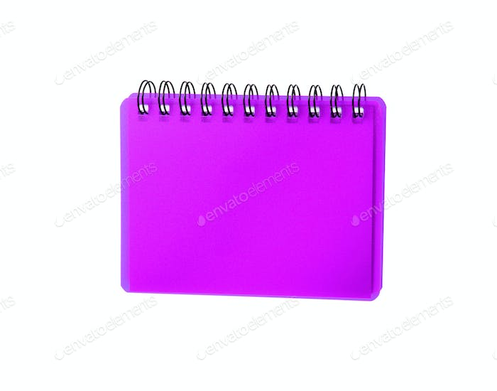 Purpule color Cover Note Book