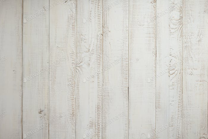 white plank wooden background