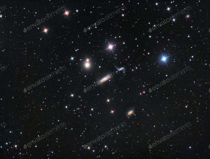 Hickson 44 Galaxy Group