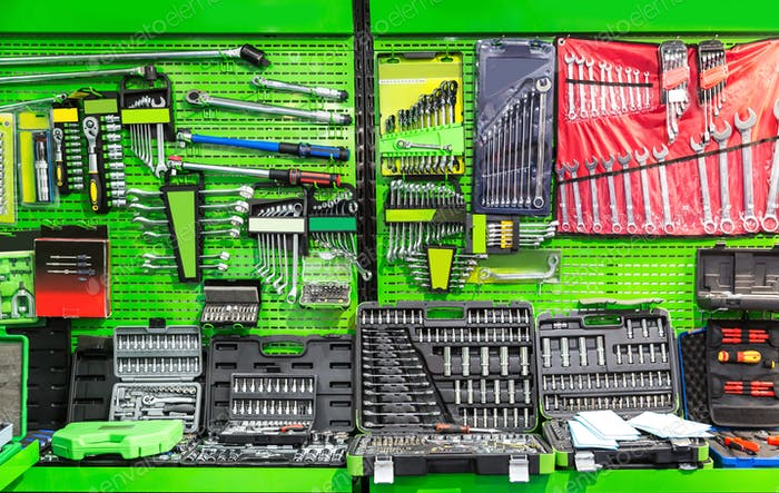 Professional workshop equipment, special tools