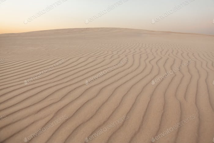 Waves of Sand Texture, Dunes of the Desert