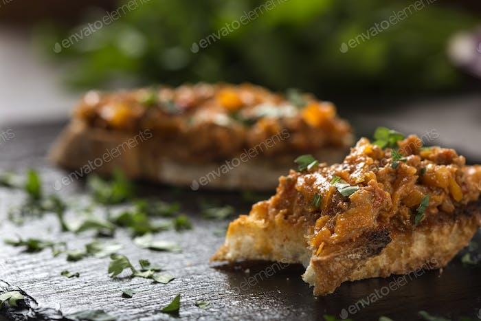 Zacusca - Romanian vegetable spread
