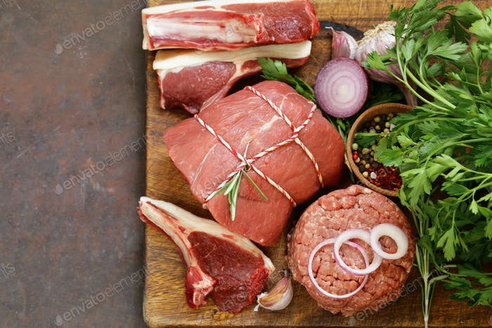 Organic Raw Meat