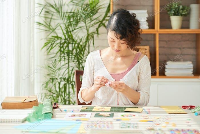 Creation of Handmade Gifts