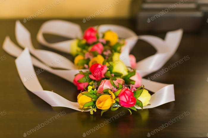 Brautjungfern Blume Armband