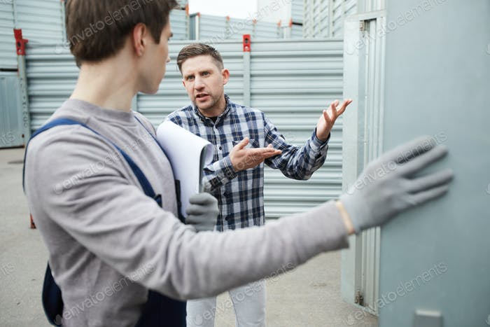 Misunderstanding client talking to storage worker