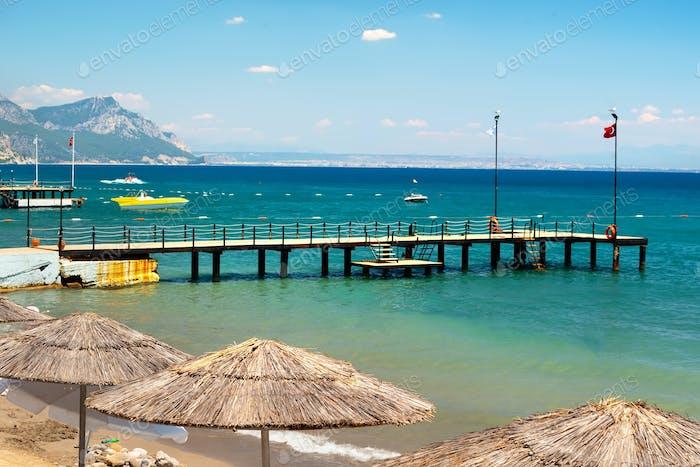 Mittelmeer in der Türkei