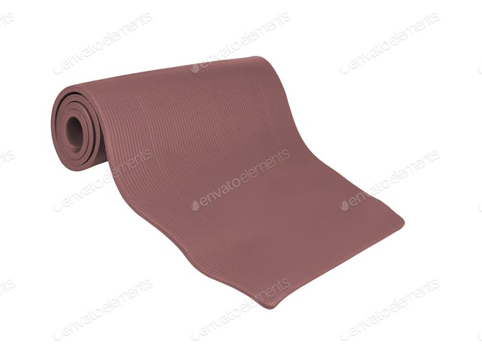 mat for sports isolated