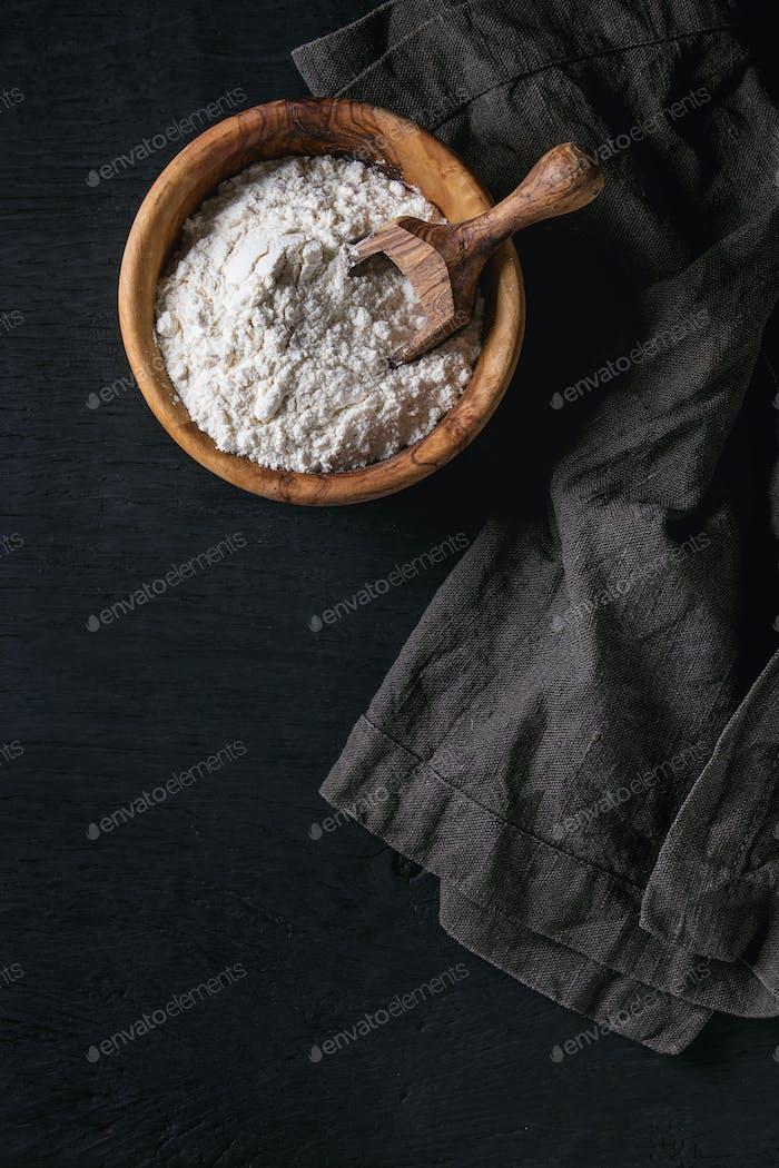 Sauerteig zum Backen von Brot