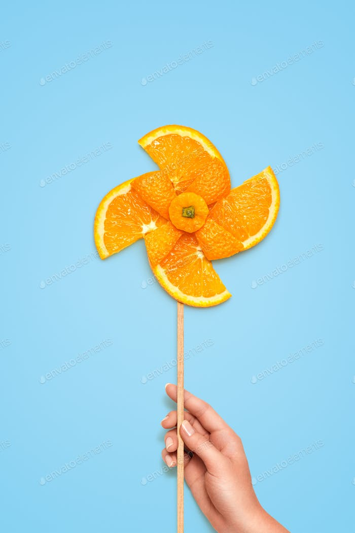 Fruity windmill.