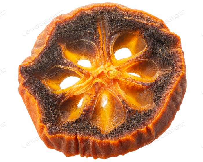 Dried persimmon slice, paths